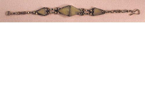 Double-triangle bracelet