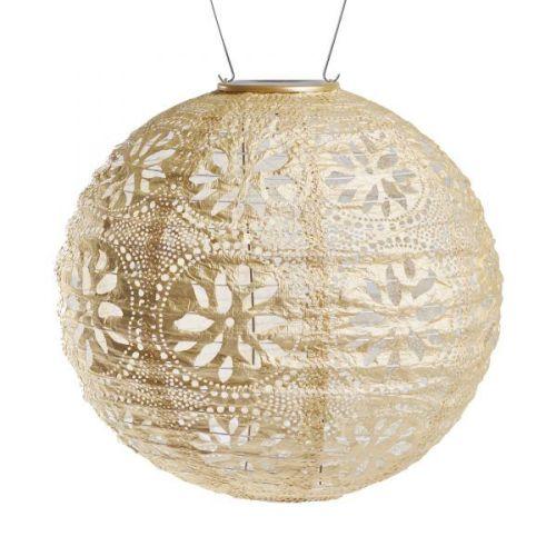 Soji Stella Boho Globe solar lantern