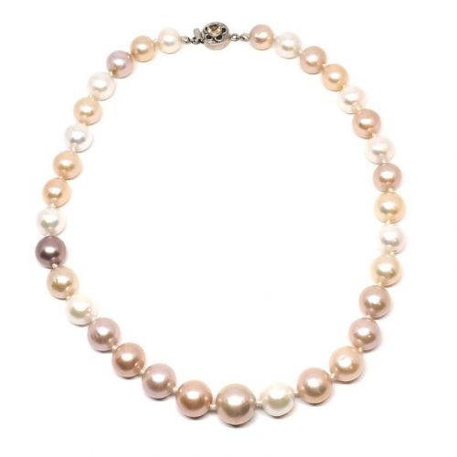 Pearls Fit for a Queen necklace