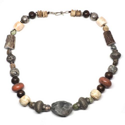 Shed antler necklace