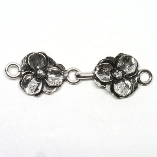 Pansy clasp