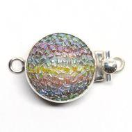 Round rainbow clasp