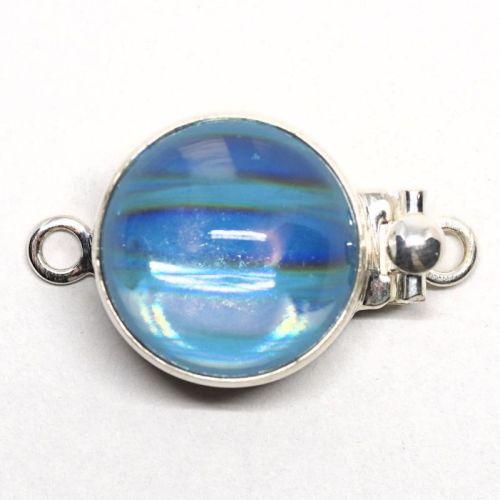 Blue wave clasp