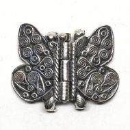 Butterfly clasp with antenna