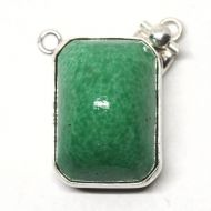 Moss green pendant clasp