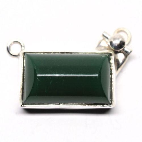 Green German pendant clasp