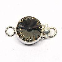 Swarovski black diamond clasp