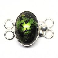 Bright olivine bracelet clasp