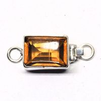 Faux amber clasp