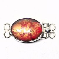 Red sunset clasp