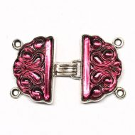 Pink hook clasp