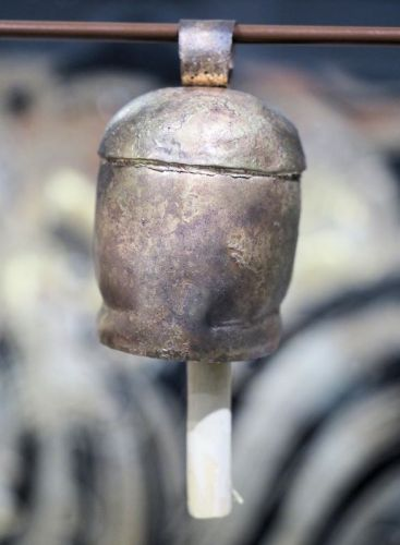 Hand-made copper bell, 3.5 inch