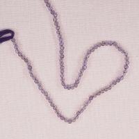 3 mm light amethyst round beads