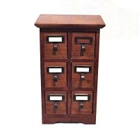 Six-drawer cabinet