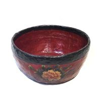 Large Chinese lacquer bowl
