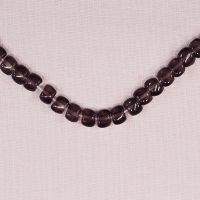 6 mm by 8 mm Vintage Czech glass irregular cube beads