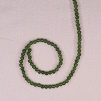 4 mm round jade beads