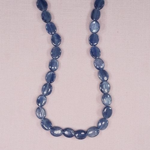 Kyanite 10 mm flat ovals