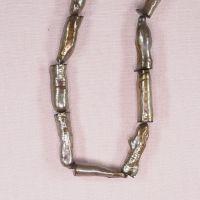 22 mm irregular gold stick pearls