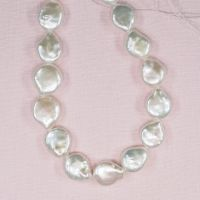 12 mm white coin pearls