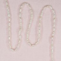 6 mm by 3 mm white rice pearls