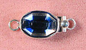 Aqua mirror clasp