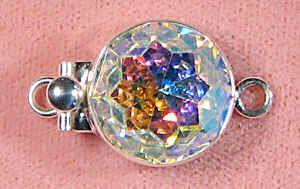 Swarovski crystal AB clasp