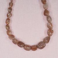 Vintage Indian sunstone beads