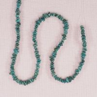1 mm to 2 mm turquoise chips