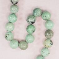 16 mm round Chinese turquoise beads